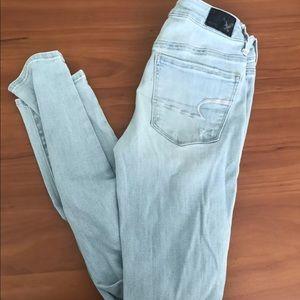 Denim - American Eagle Super Skinny Jeans size 2.