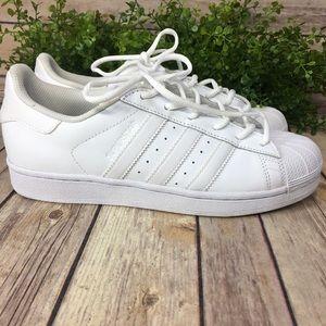 Adidas Ortholite White on White