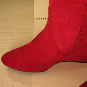 45f43bfd11a impo Shoes - Price Drop⬇️Impo Red Knee High Pointed Toe Boot