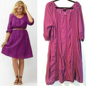 Lane Bryant 18/20 Peasant Dress
