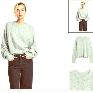 🌟Fine Knit Sweater with Pearls 🌟