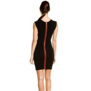 US 8 Black French Connection Monique Stretch Dress