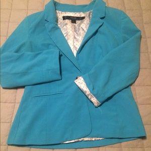 Kensie Women's Blue Blazer Small