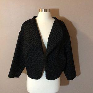 H&M Black Cropped Blazer