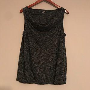 Ann Taylor Loft sleeveless dress shirt