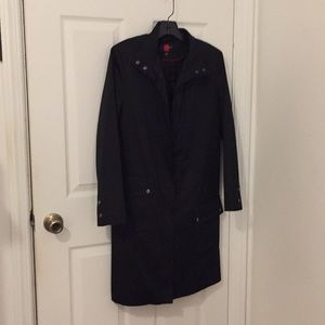 Black trench coat size S