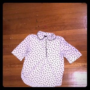 Ann Taylor Blouse Size 0P- New Without Tags