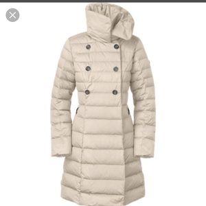 North Face Paulette down coat M white