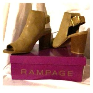 Rampage size 9 1/2 booties. Worn once.