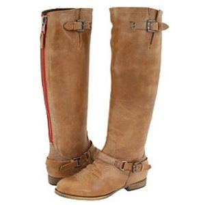 Tan leather Steve Madden Roady boots size 7.5