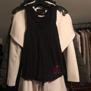 Juicy Couture Ruffle Tank