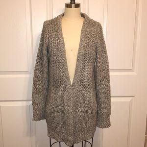 Zara Grey Cozy Oversized Cardigan