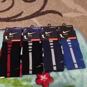 Nike Elite Crew Cushioned Socks. $15 each.