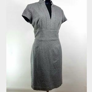 Trina Turk Gray Ponte Knit Dress
