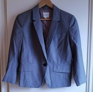 The LOFT gray blazer