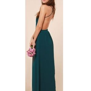 Lulu's Rooftop Garden Party Maxi Dress