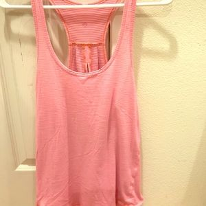 Tank top , with tie up option in back.