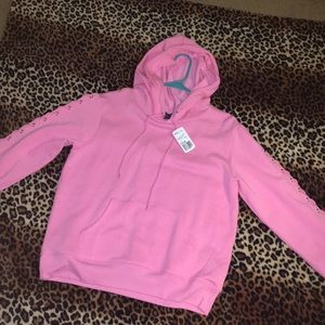 Forever 21 side laced hoodie