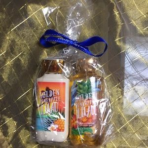 Bath & Body Works shower gel & body lotion