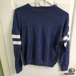 Long sleeve blue sweater from Forever 21