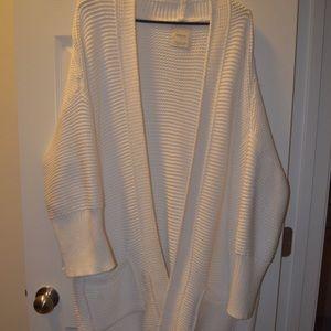 Why's Zara thick oversized sweater cardigan