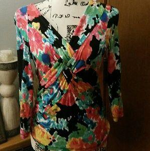 Cable & Gauge blouse sz. S