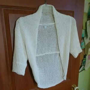 Elegant White Shrug