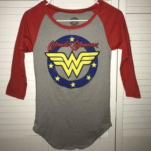 DC Comics Wonder Woman Baseball Tee