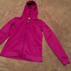 Women's Under Armour fuchsia hoodie
