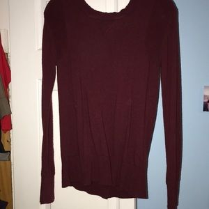 Open button back Lululemon sweater