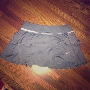 Gray Nike Tennis skirt