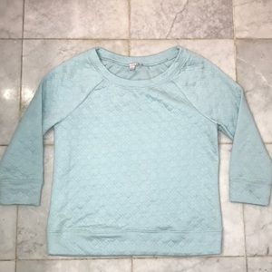 NWOT soft sweater Mint Teal Green Blue