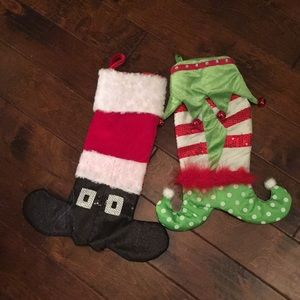 Fun and whimsical stockings! From Pier One Imports