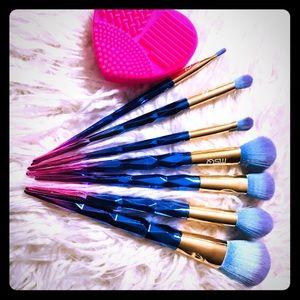 Professional makeup brushes bundle