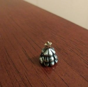 Retired Pandora Christmas tree charm