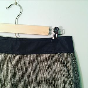 Worthington Work Pencil Skirt Faux Leather Sz 6