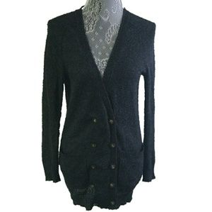MADEWELL WALLACE mohair double button cardigan