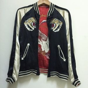Vintage Sukajan Reversible Japan Souvenir Jacket