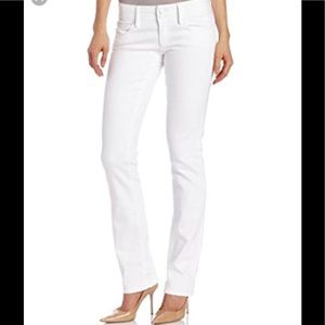 Lilly Pulitzer Worth straight white jeans 4.
