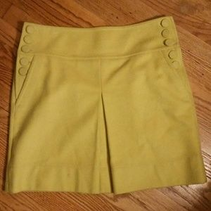 J.Crew Lime skirt sz. 6P