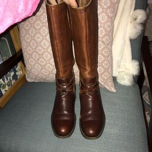 REAL LEATHER VINTAGE BORN BOOTS