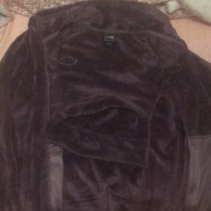 Women's north face fur jacket