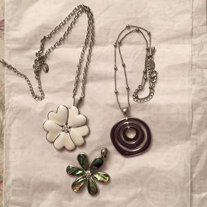 Lia Sophia pendant necklaces