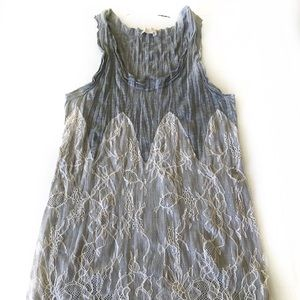 Urban Outfitters Pins and Needles Lace Tank
