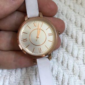 Accessories - White Fashion Watch