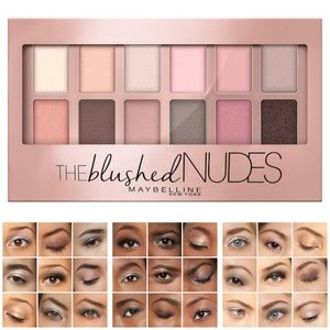 Maybelline® The Blushed Nudes™ Eye Shadow Palette