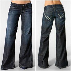 William Rast Jeans SAVOY Wide Leg Trouser 26x32