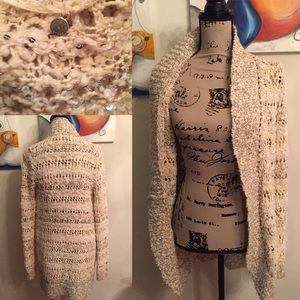 Anthro Knitted & Knotted duster