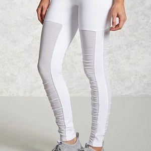 *Black* Forever 21 Active Legging Mesh Legs Size M