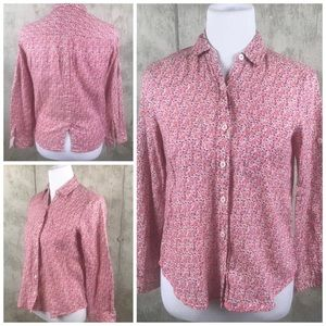 HOLDING HORSES ANTHROPOLOGIE  Print Button Shirt